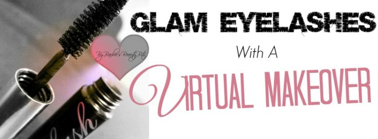 Get Long Glam Lashes With GlamST; the first virtual makeup tester, it's a makeup lover's dream come true. The site allows you to test products, give makeup tips, while sharing the experience with your friends & More! By Barbie's Beauty Bits. #DIY, #DIYbeauty, #BADgal Mascara