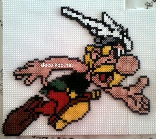 Asterix hama beads by decokdonat
