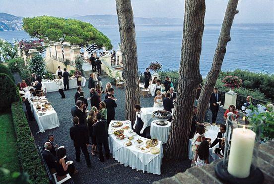 Wedding Reception @ La Cervara Hotel in Portofino, Italy