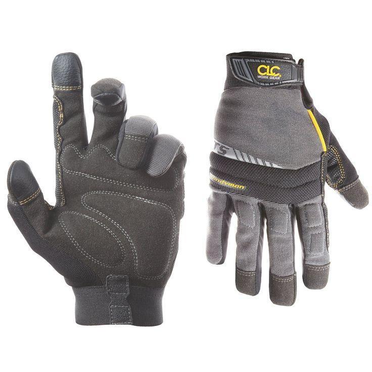 CLC 125M Handyman Glex Grip Gloves Medium Synthetic Leather Work Gloves