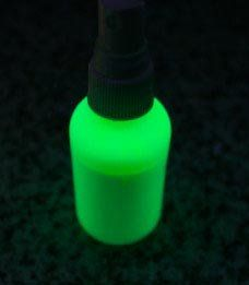 GREEN Body Paint UV Blacklight Liquid Paint 2oz by GloMania USA. $9.99. Body Paint, Tattoo Paint, Temorary Tattoo paint. easy to use,. GREEN, Fluorescent, UV Blacklight. Theatrical, dance studio, shows, stage. Washes out, safe, non toxic. GREEN UV Black Light Body Paint. This is a theatrical UV Black light body paint that fluoresces back brighter under UV Black Light. You are purchasing a 2oz bottle of Body Paint, this will cover approximately 2 sheets of standard paper. Plac...