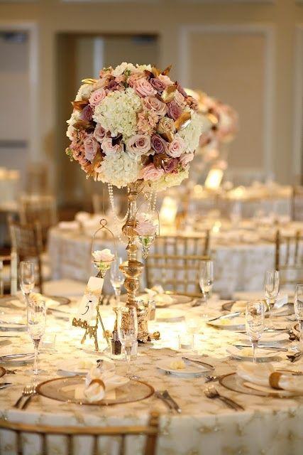 ideas decoración boda en rosa y dorado. #BodaRosa #DecoraciónBoda índigo Bodas y Eventos www.indigobodasyevetnos.com