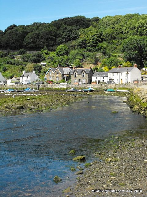 Lower Fishguard, Pembrokeshire, Wales
