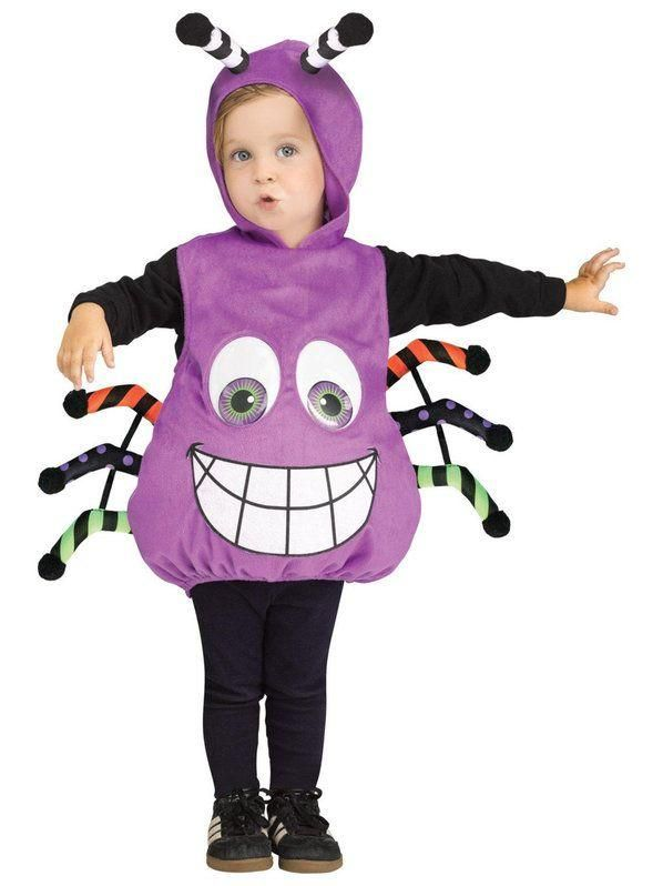 Baby Spider Googly Eyes Halloween Costume Toddler Costumes