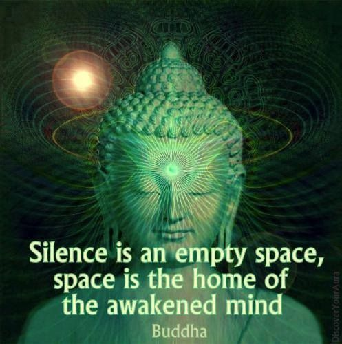 Quot Silence Is An Empty Space Space Is The Home Of The