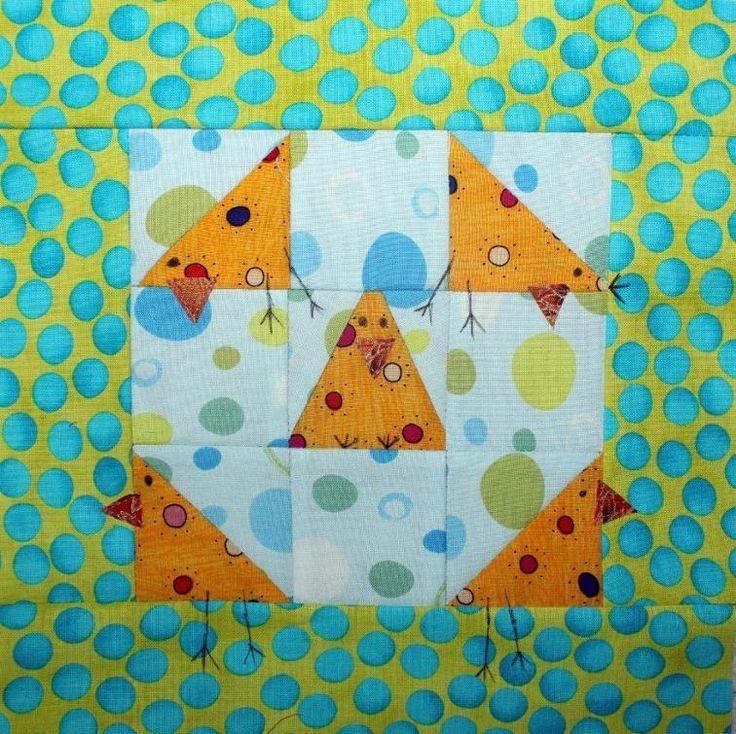 Shoofly Chickens Block Tutorial | Craftsy