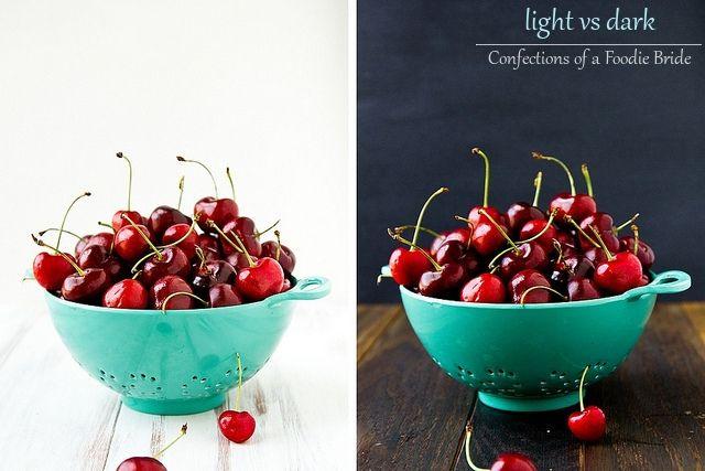 Light vs Dark by foodiebride, via Flickr