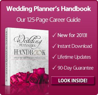 Wedding Planners Handbook Article About Being A Planner