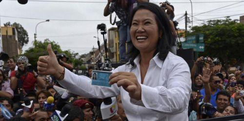 Fujimori pasa a la segunda vuelta en elecciones en Perú-...