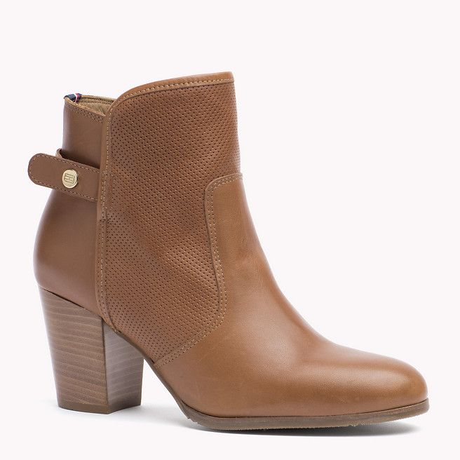 Tommy Hilfiger Leather Ankle Boots - saddle (Brown) - Tommy Hilfiger Ankle Boot - main image