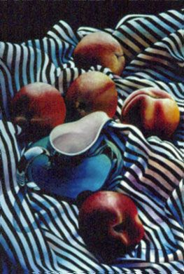Chris Krupinski - Peaches and Cream Watercolor