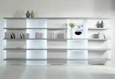 Shelving units by Acerbis, design at STYLEPARK.