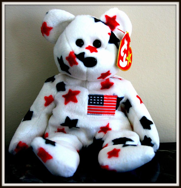 4th of july beanie baby value