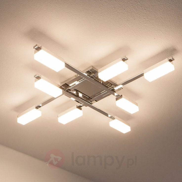 Lukretia - ośmiopunktowa lampa sufitowa LED bezpieczne & wygodne zakupy w sklepie internetowym Lampy.pl.