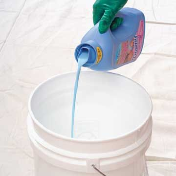 Add fabric softener to water for quick and easy paintbrush clean up! Now you can only half-dread painting!