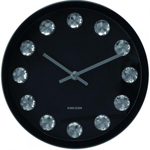 Zegar ścienny Medium Diamond Karlsson