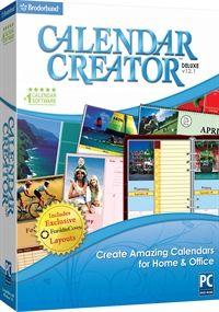Calendar Creator Deluxe v12.1