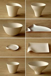 paper disposal dishes. As is the fate of all single-use tableware, a piece of WASARA can serve its purpose only once. Yet it is designed to minimize environmental burden. WASARA is made from 100% renewable, tree-free materials, specifically, bamboo and bagasse (a by-product of the sugar refining process).