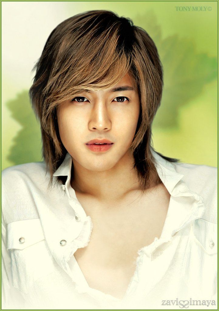 Kim Hyun Joong 김현중 ♡ SS501 ♡ Kpop ♡ Kdrama ♡ long hair ♡ beauty ❤  My ultimate bias for all time♡♡♡♡♡ (*≧ω≦*)