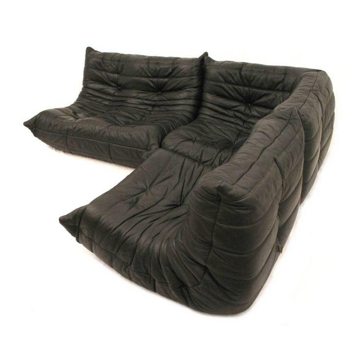 Ligne Roset Togo modular sofa designed by Michael Ducaroy, French Design - 24Vintage
