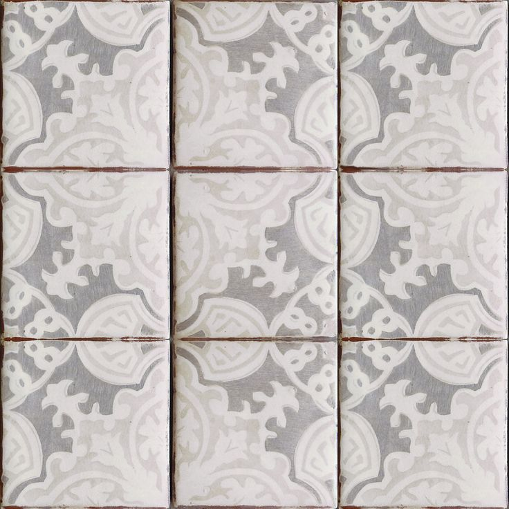 simply elegant terracotta tile oxford gray on off white get it at world mosaic - Mosaic Tiles
