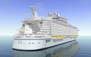 Royal Caribbean to build new 'Oasis ship' in France