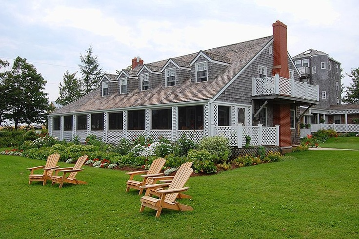 The Inn at Bay Fortune - Prince Edward Island, Canada Used to be owned by Coleen Dewhurst - married to George C. Scott