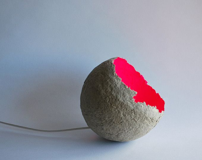 Paper Mache Pendant Light With Red Buttons Recycled Paper Lampshade Paper Pulp Light Buttons Ceiling Lamp Hanging Light Plug In Pendant Light Ceiling Lamp Paper Lampshade