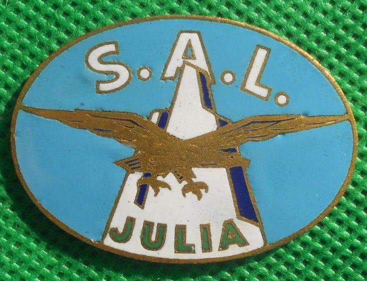 distintivo alpino aviazione fregio cappello alpini brevetto ana julia medaglia