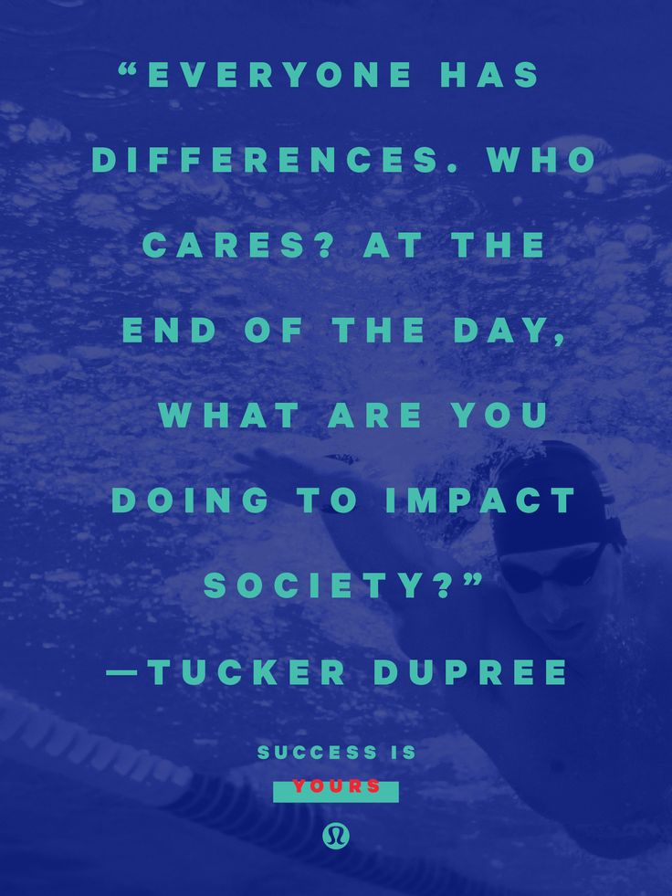 Leaving a Legacy with Tucker Dupree. Swimmer Tucker Dupree is clinically blind, but don't think for one moment that he can't see.