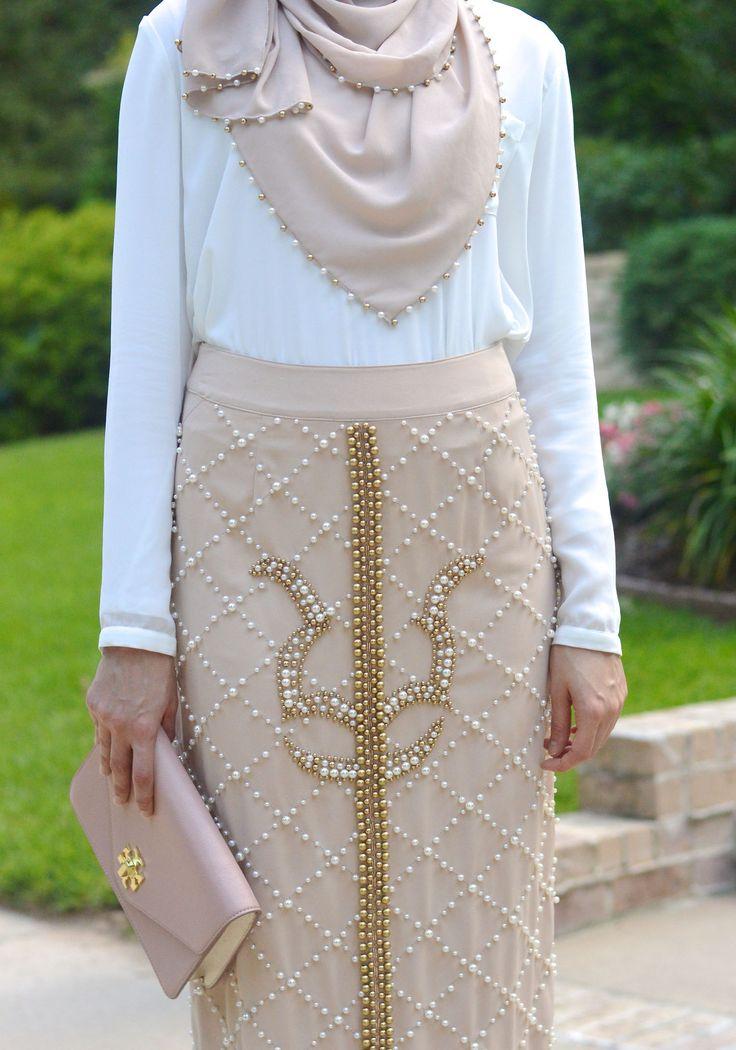 Pearl Maxi Skirt. Hijab Fashion. Withloveleena, With Love, Leena