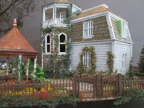 Munsters house paper model