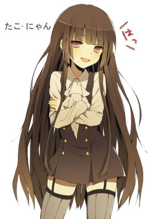 anime, inu x boku ss, and anime girl image