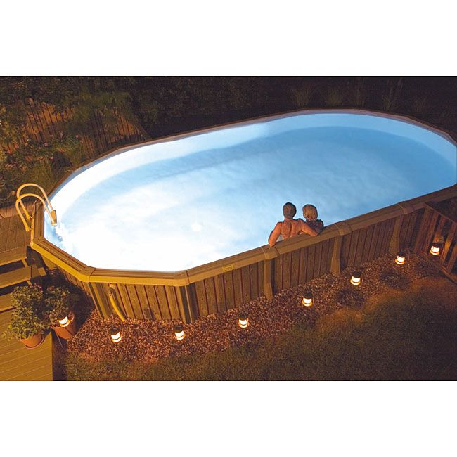 25 Best Ideas About Above Ground Pool Lights On Pinterest Above Ground Pool Landscaping
