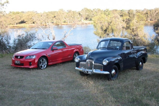 57 years of the Holden ute (utility) The old and the new