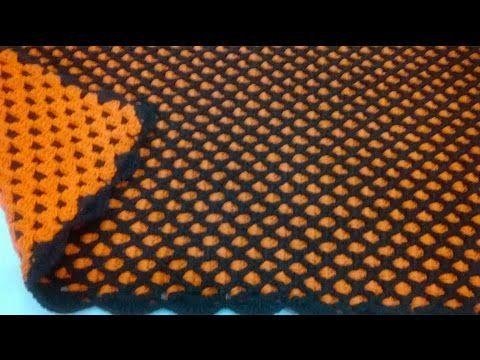 Uma maneira simples para executar o ponto dupla face, sem se atrapalhar com os fios.