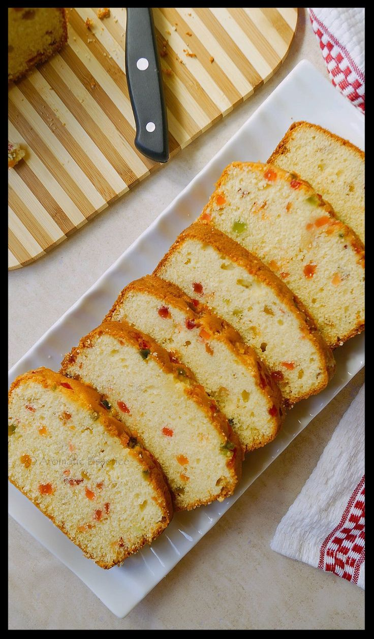 Tutti frutti cake is a popular Indian cake. I've grown up eating this cake and it's one of my favorite tea time cakes. I don't mind eating it as a snack too. It's a p…