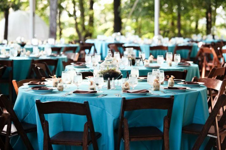 aqua wedding reception - Google Search