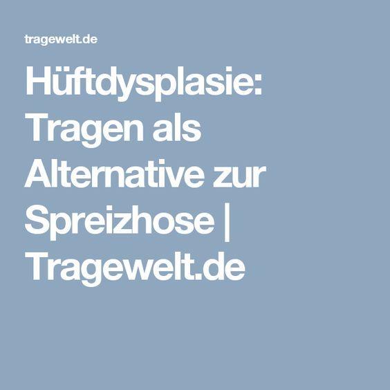 Hüftdysplasie: Tragen als Alternative zur Spreizhose | Tragewelt.de