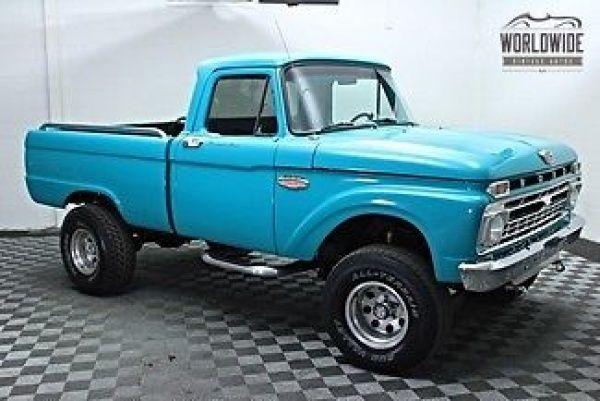 Todays Legendary Car Finds Other Pickups 1966 Ford F100 ...  Todays Legendar...