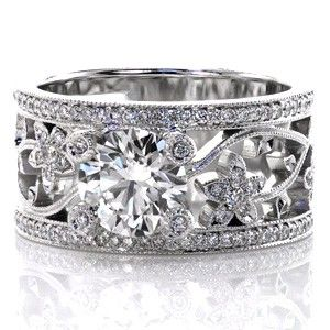 non traditional wedding ring. Love it.