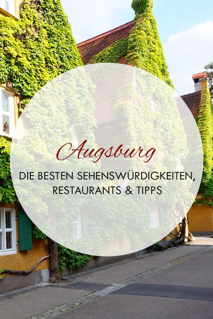 In diesem Beitrag findest du alle wichtigen Sehenswürdigkeiten, Highlights für Augsburg, Bayern in Deutschland. Egal ob Altstadt, Puppenkiste, Augsburger Dom, Augsburger Fuggerei oder Restaurants und Hotels.