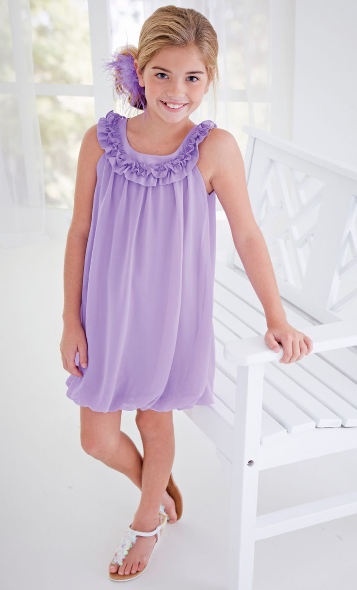 From CWDkids: Ruffle Bubble Dress.