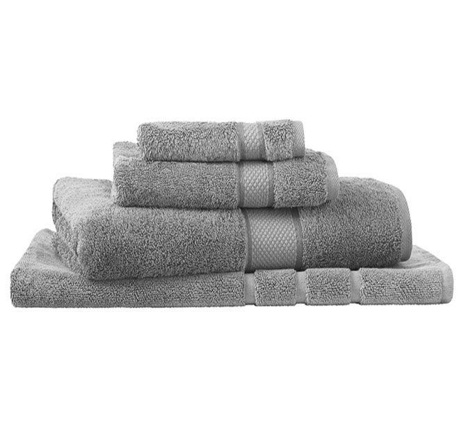 Sheridan Egyptian Luxury Bath Towel Silver