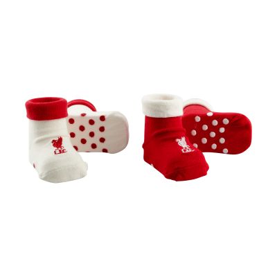 LFC 2 Pack Baby Booties. Was £10, now £5.