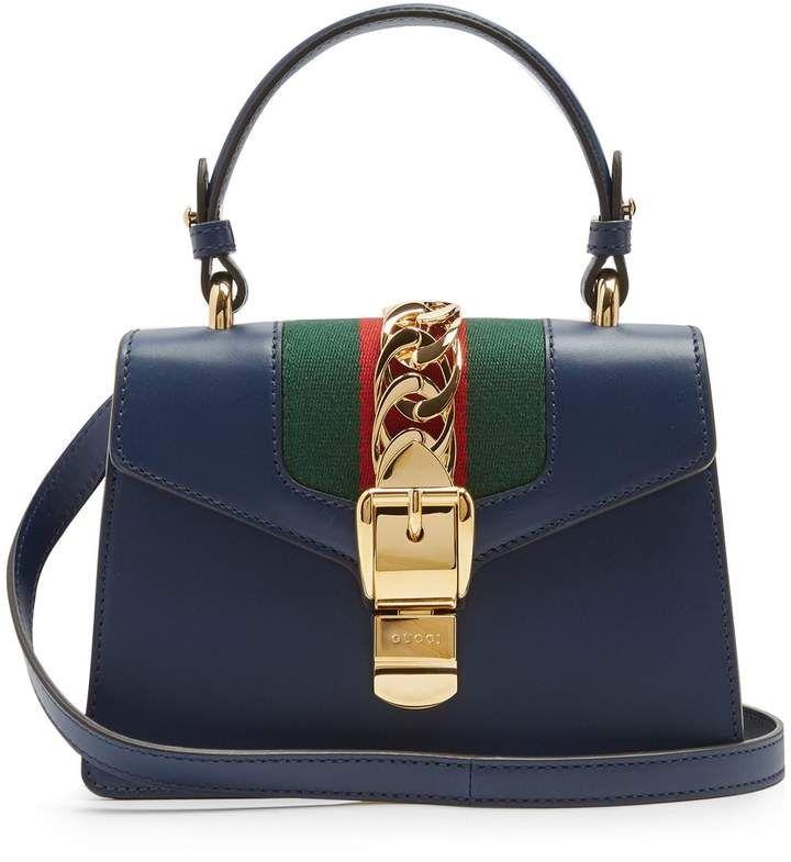 ed75ca75de GUCCI Sylvie mini leather shoulder bag #gucci #ShopStyle #MyShopStyle click  link for more