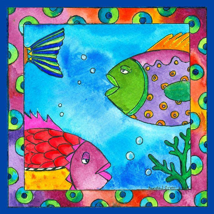 tropical fish artwork - Google Search