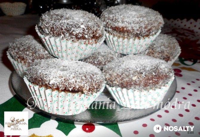 Kókuszkocka-muffin VnéEdit konyhájából