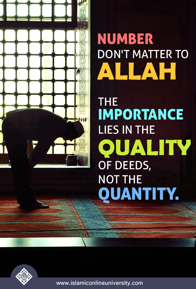 """Nothing should be too small for us: no good deed is so trivial that we scorn at it. We should strive to do every single good deed that we can, while keeping in mind that, as the Prophet (pbuh) said, """"Allah likes most the consistent deeds."""" Dr Bilal"""