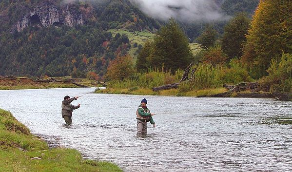 Fishing in the Chilean Patagonia. Pesca en la Patagonia Chilena - GFFpix - share your best flyfishing pictures - Global FlyFisher